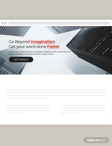 construction website header