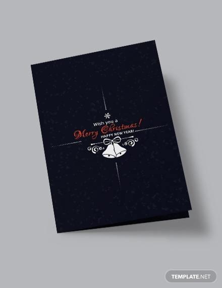 creative christmas bi fold brochure