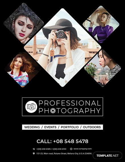 creative photography flyer example