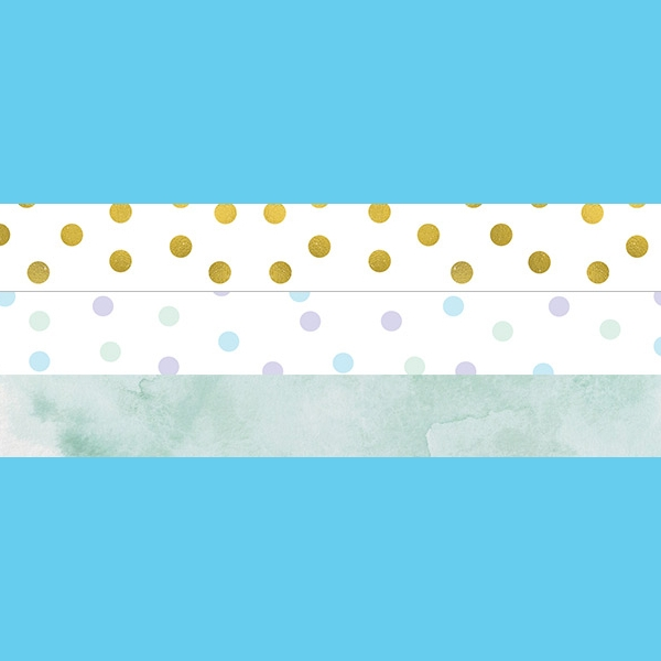 cute polka dots blog header