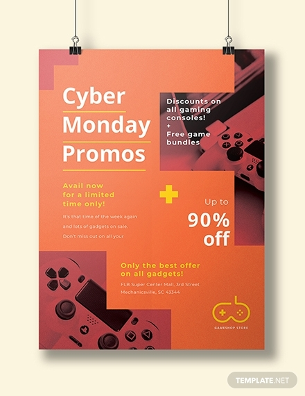 cyber monday promotional