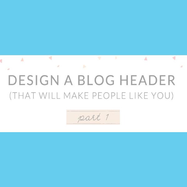 design tutorial blog header