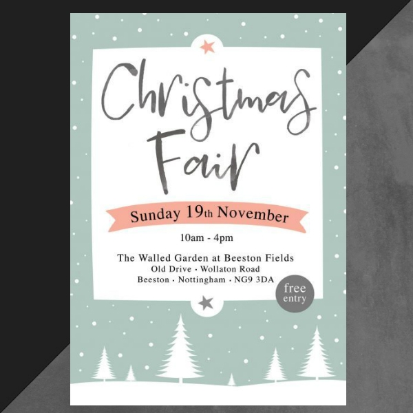 early christmas fair invitation