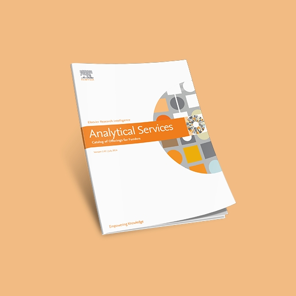 elsevier analytical services catalog