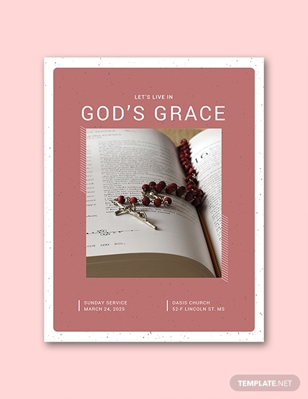 free church program sample