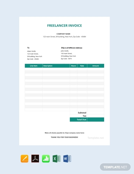 freelancer invoice1