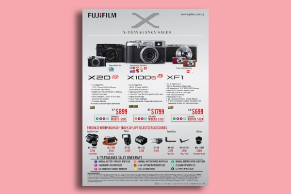 fujifilm sales flyer