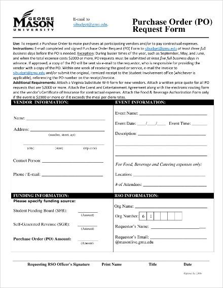 george mason university purchase order1