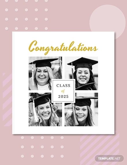 graduation photo book cover