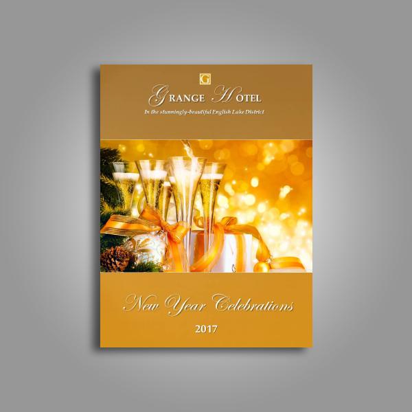 grange hotel new year card