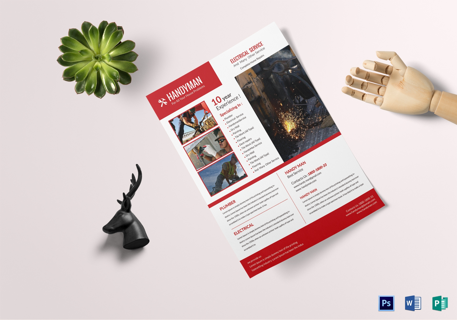 Handyman Construction Company Flyer1