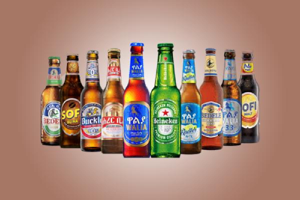 heineken ethiopia beer label