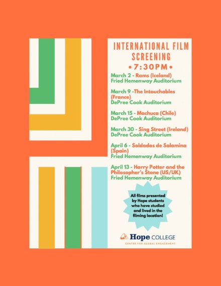 international film screening schedule