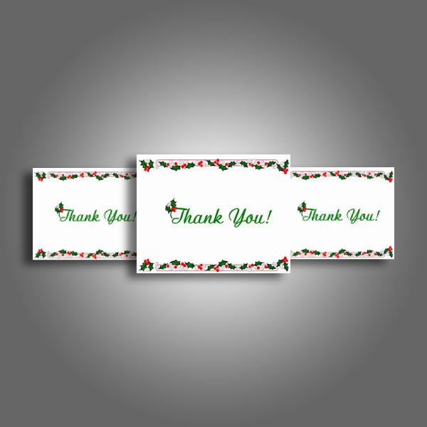 kids christmas thank you card