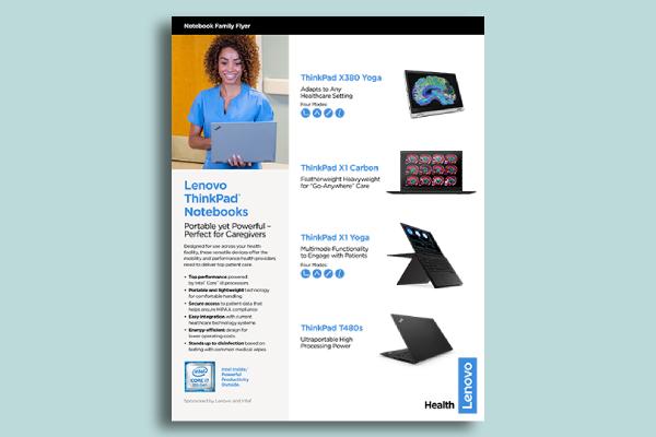 lenovo health notebook flyer