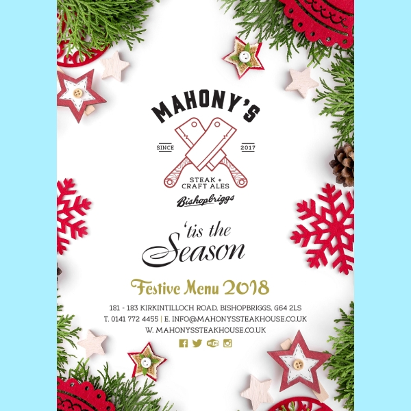 mahoganys steakhouse christmas menu