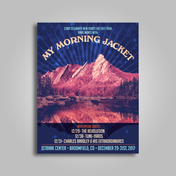 my morning jacket concert poster