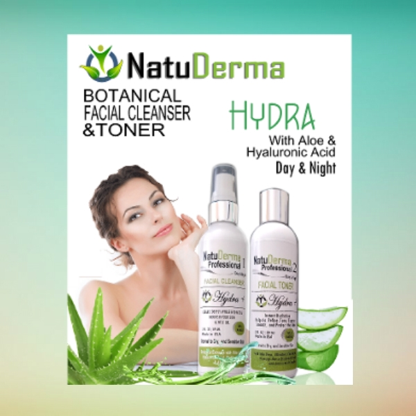 natuderma beauty care flyer
