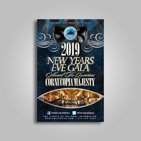 nightout new years eve gala poster