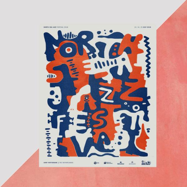 north sea jazz poster