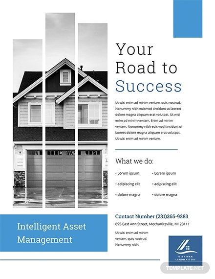 property management flyer