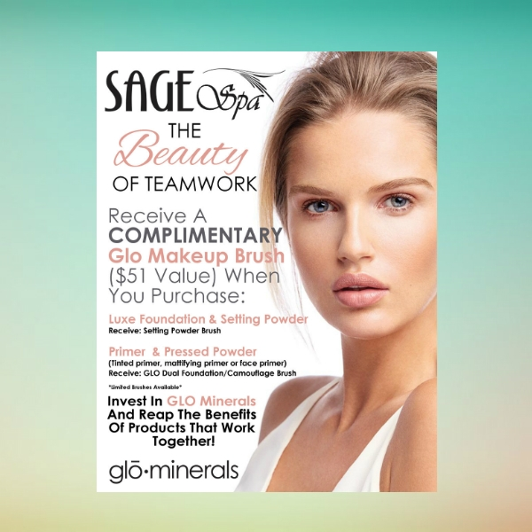 sage spa beauty care flyer