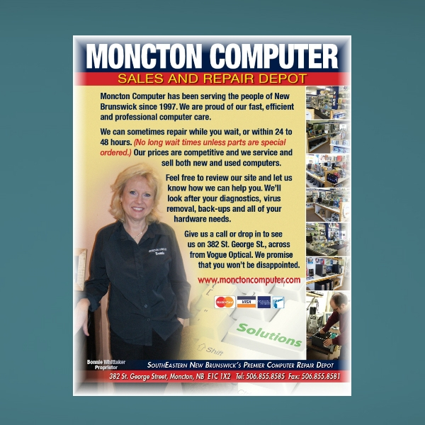 sample computer and mobile services flyer