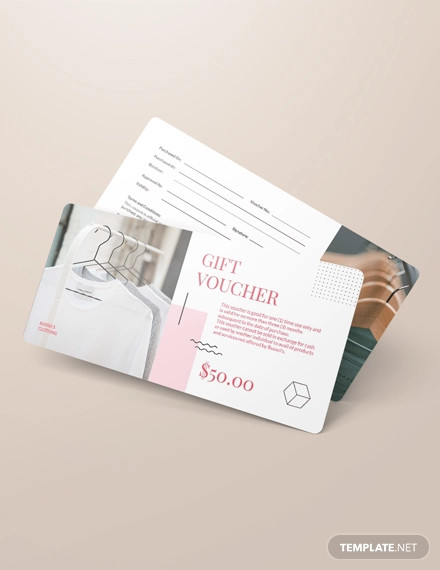 simple thank you voucher template
