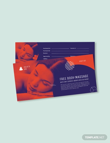 spa gift voucher template1