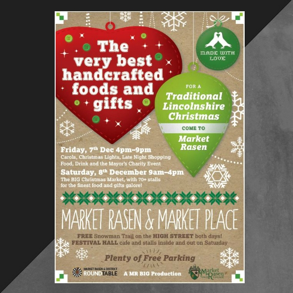 traditional christmas market events invitation