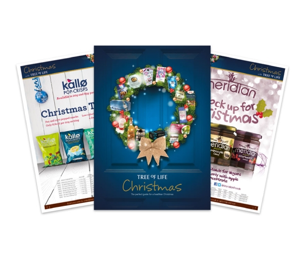 tree of life christmas brochure