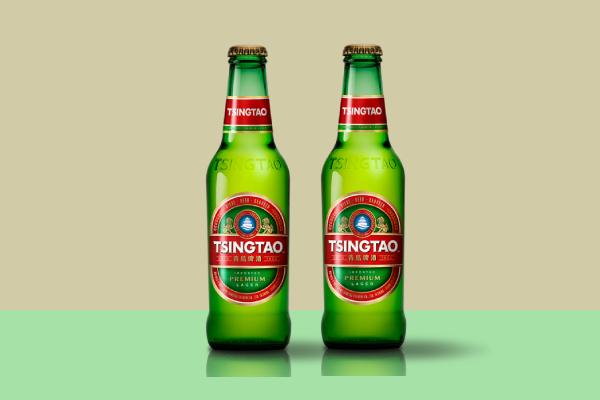 tsingtao beer label