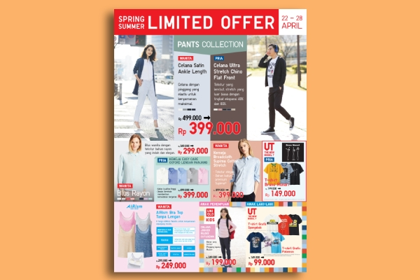 uniqlo digital flyer