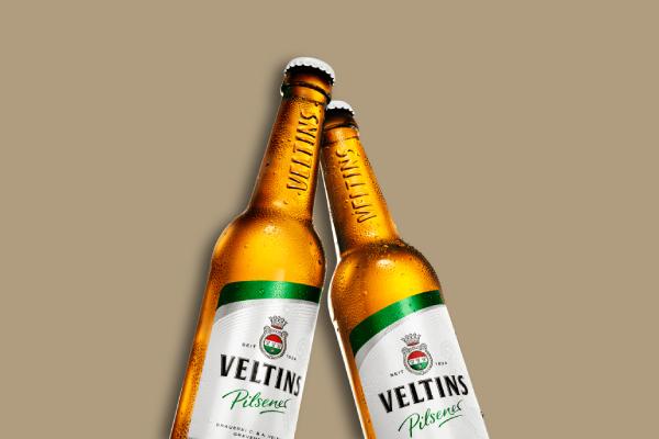 veltins beer label