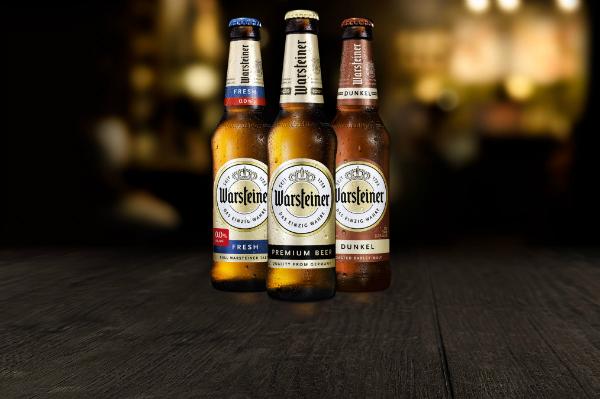 warsteiner beer label