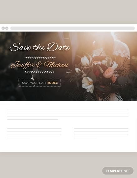 wedding blog header design