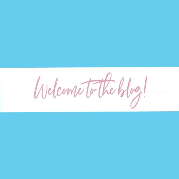 welcome blog header