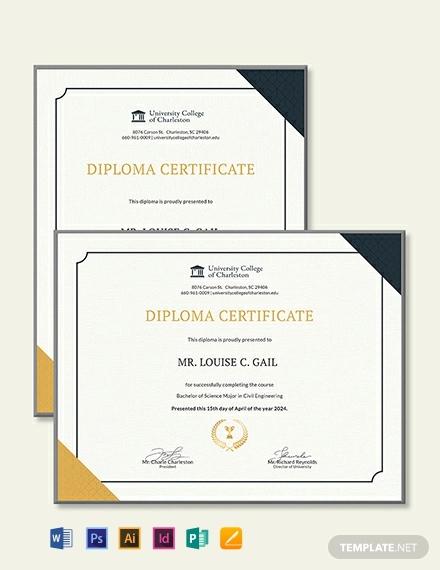 civil diploma
