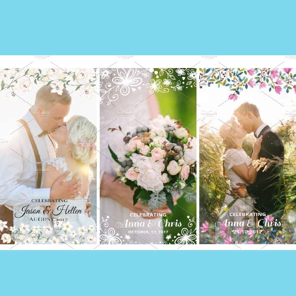 9 wedding snapchat geofilters set