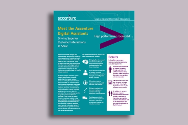 accenture digital assistant brochure