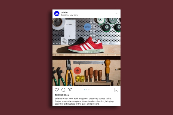 adidas instagram ad