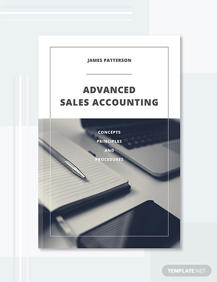 advanced sales accounting book cover