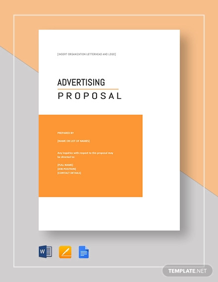 advertising proposal