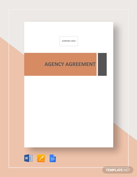agency agreement template1