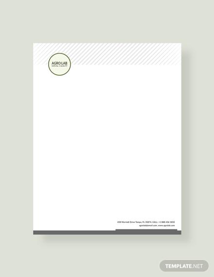 agriculture letterhead