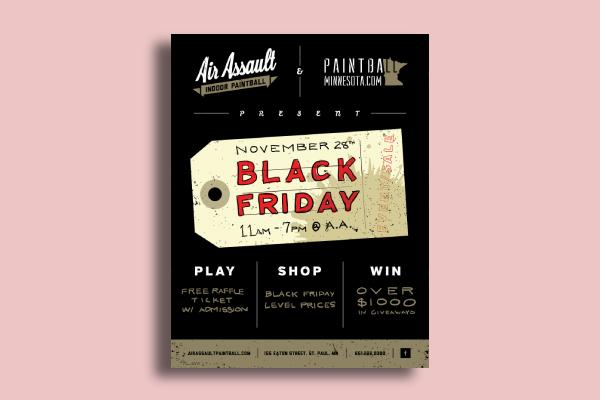 air assault black friday flyer
