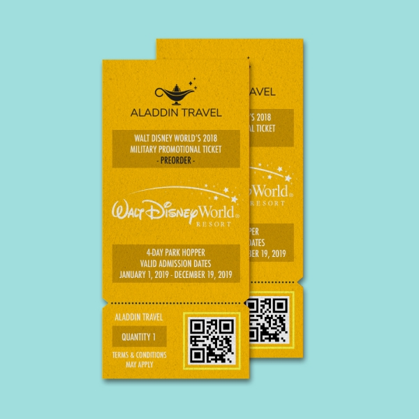 aladin disney world ticket