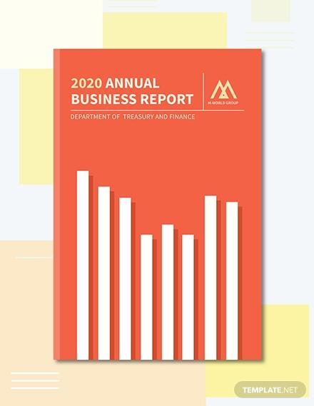 annual report book cover