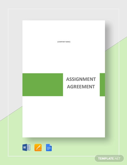 assignment agreement template1