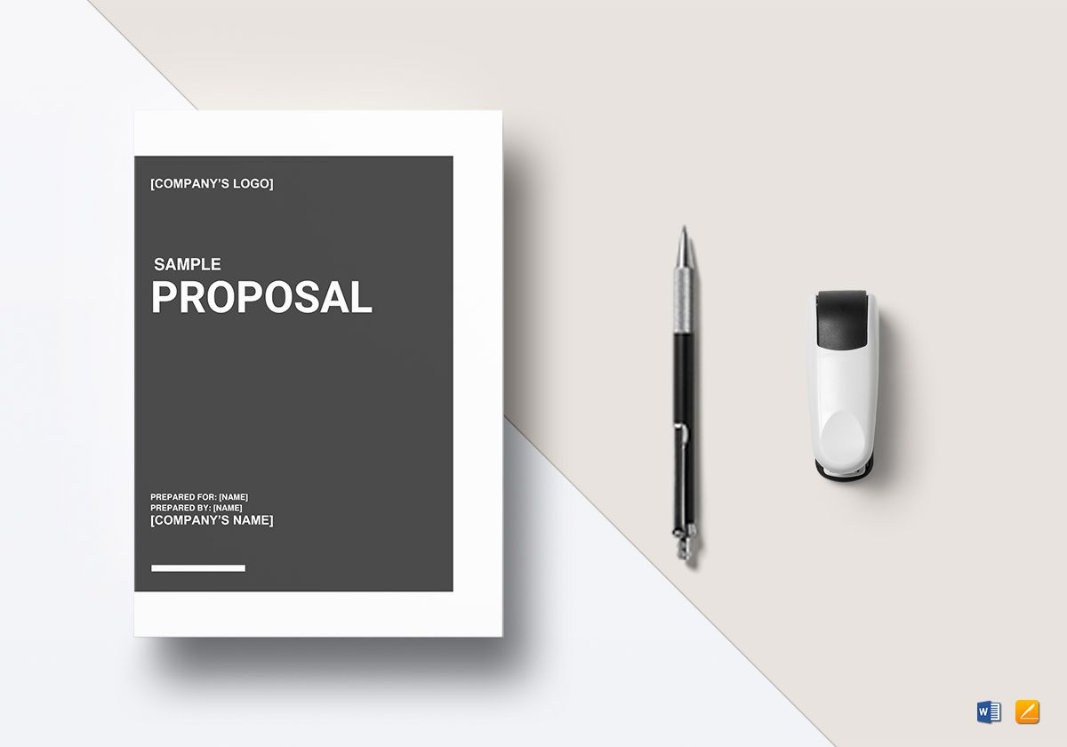 basic proposal outline